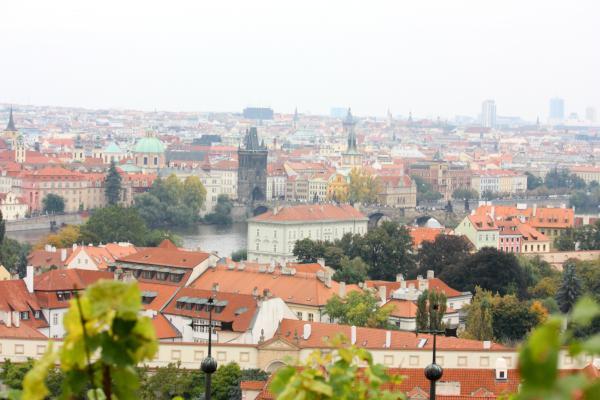 Landschaft, Panorama, Prag, Tschechien