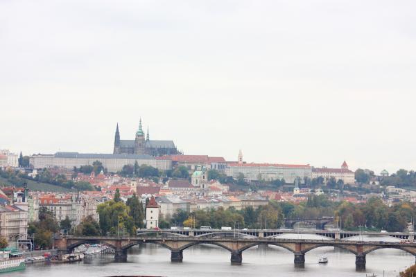 Landschaft, Panorama, Prag, Prager Burg, Tschechien