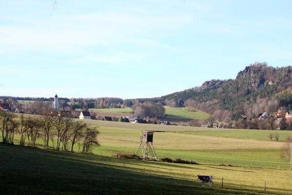 Lasensteine, Liethenmühle, Papststein, Sächsische Schweiz