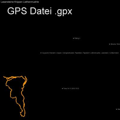 Wandern, krippen, Kleingiesshuebel, Papststein, Papstdorf, Liethenmuehle, Lasenstein, Kohlbornstein, Höhenmeter 300m, Länge 10km, GPX Route, GPS Daten
