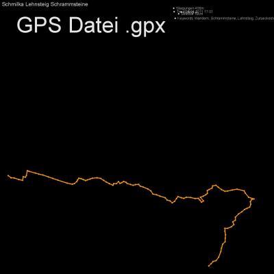 Wandern, Schrammsteine, Lehnsteig, Zurueckesteig, Höhenmeter 400m, Länge 10km, GPX Route, GPS Daten