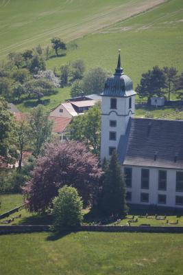 Kirche, Papststein, Sächsische Schweiz