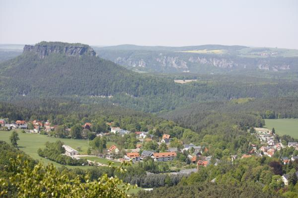 Gohrisch, Lilienstein, Sächsische Schweiz