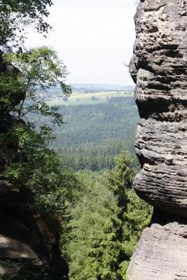 Affensteine, Sächsische Schweiz, Wilde Hölle