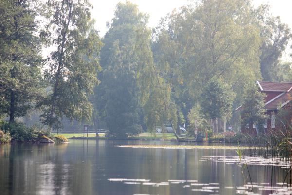 Aby, Kanu, Schleuse, Schweden, See, Smaland, Värensleden, Wasser