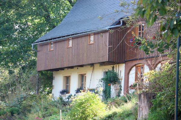 Architektur, Hinterhermsdorf, Sächsische Schweiz, Umgebinde