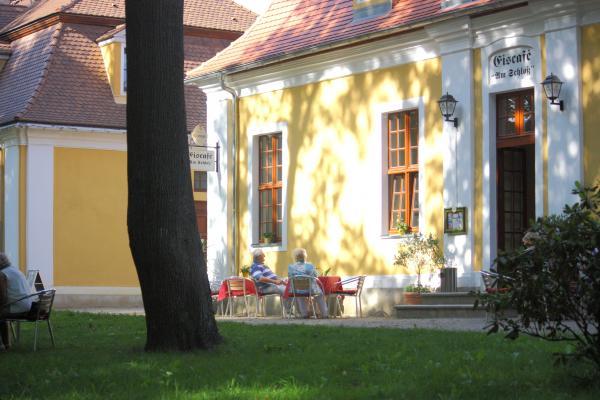 cafetrinken, Neschwitz, Oberlausitz, Park