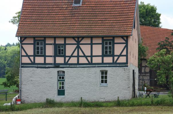 Fachwerk, Thüringen, Willershausen
