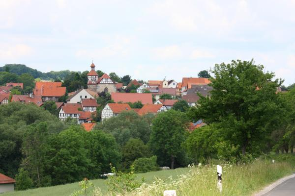 Landschaft, Thüringen, Willershausen