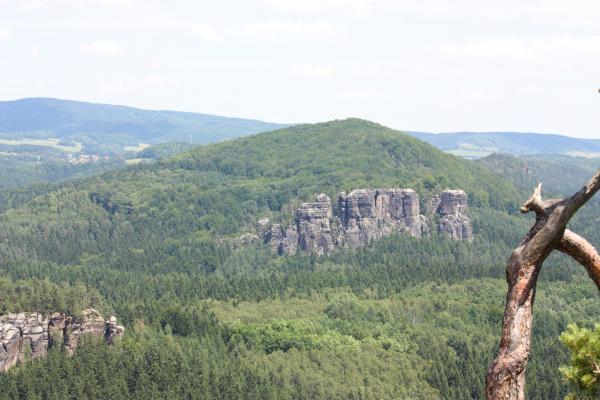 Elbsandsteingebirge, Kuhstall, Sächsische Schweiz, Wandern
