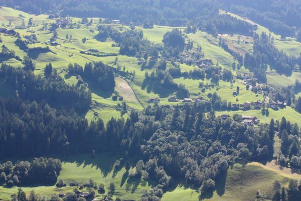 Alpen, Außerretschitz, Egg, Egger Wiesen, Fleckenkopf, Landschaft, Mitten und Umgebung, Mölltal, Putschal, Zoggleralm, Österreich