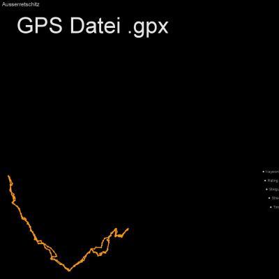 Ausserrretschitz, Egger Wiesen, Höhenmeter 800m, Länge 11km, GPX Route, GPS Daten