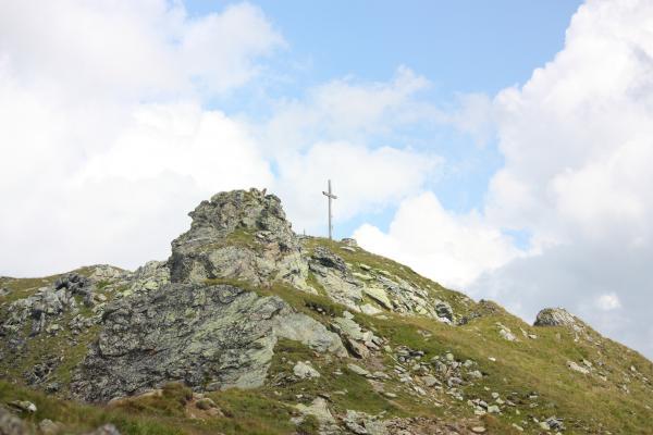 Alpen, Bodenhütte, Gipfel, Gipfelkreuz, Goldberggruppe, Melenkopf, Mölltal, Oberbauernalm, Stall, Tröger Törl, Österreich