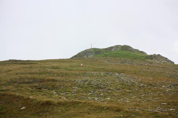 Alpen, Bichl, Deferegger Gebirge, Gipfel, Gipfelkreuz, Kontriner Kaser, Pustertaler Höhenstraße, Thulnkogel, Tullenkogel, Tullnkogel, Österreich