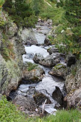 Alpen, Bärenebenhütte, Gebirgsbach, Hohe Tauern, Mölltal, Stall, Thörlkopf, Trögertörl, Törlkopf, Wasser, Österreich