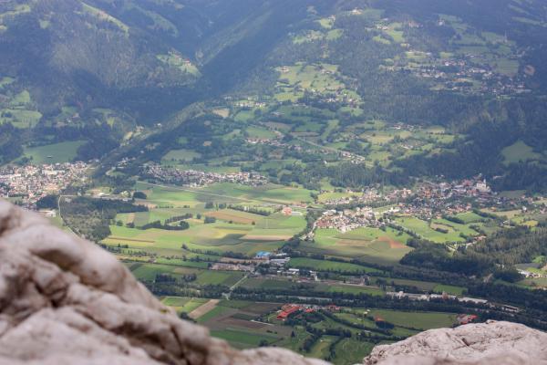 Alpen, Drautal, Kolmsteig, Landschaft, Lavanter Kolben, Lienzer Dolomiten, Talblick, Österreich