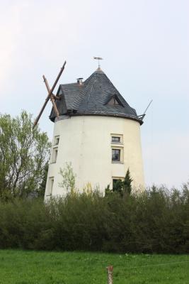Frühling, Mühle, Schönfelder Hochland