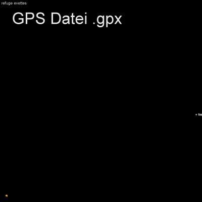 Alpen, en Vanoise, Frankreich, Refuge Evettes, Bonnval-sur-arc , Höhenmeter 600m, Länge 9km, GPX Route, GPS Daten