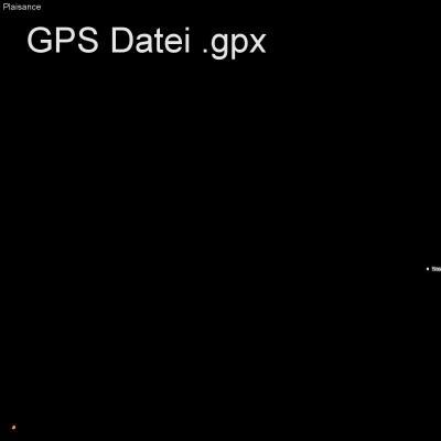 Alpen, en Vanoise, Frankreich, Höhenmeter 382m, Länge 4km, GPX Route, GPS Daten