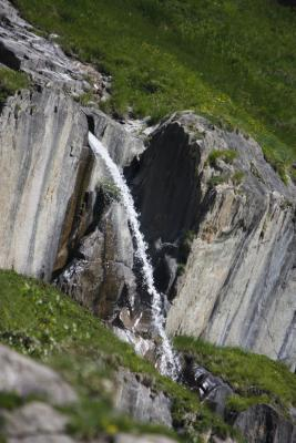Col de la Vanoise, Frankreich, Gebirgsbach, Pralognan, Vanoise