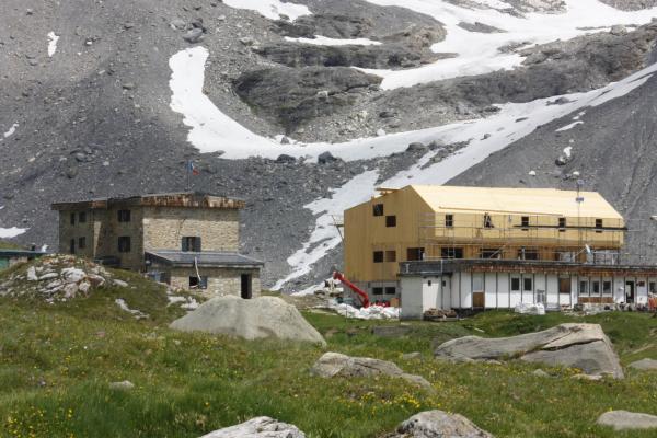 Architektur, Berghütte, Col de la Vanoise, Frankreich, Pralognan, Vanoise
