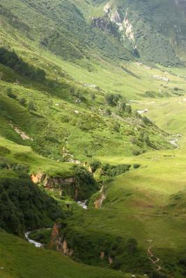 Frankreich, Haute-Savoie, Landschaft, Panorama, Pralognan, Refuge Valette, Vanoise