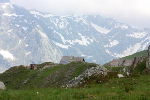 Frankreich, Gletscher, Haute-Savoie, Pralognan, Refuge Valette, Vanoise