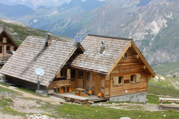 Frankreich, Haute-Savoie, Pralognan, Refuge Valette, Vanoise