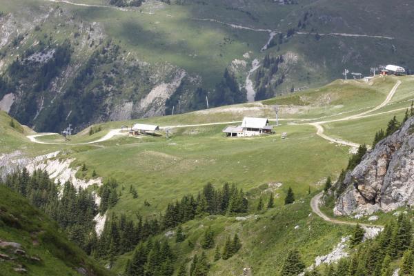 Abfahrt, Champagny-le-Haute, Frankreich, Pointe Veliere, Ski, Vanoise