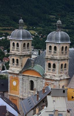 Briancon, Frankreich, Hautes-Alpes, Kirche