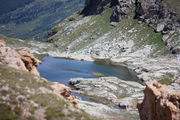Bergsee, Bramans, Frankreich, Haute-Savoie, Vanoise