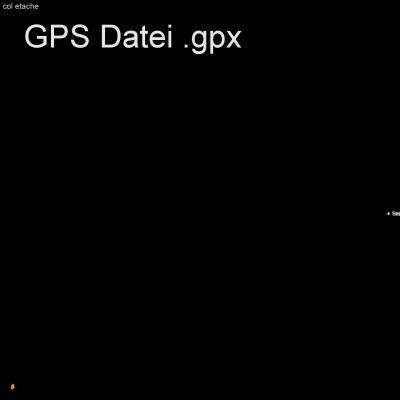 Alpen, en Vanoise, Frankreich, col etache, Bramenas, Höhenmeter 800m, Länge 13km, GPX Route, GPS Daten