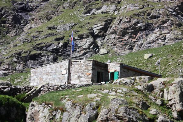 Berghütte, Bramans, Frankreich, Haute-Savoie, Vanoise
