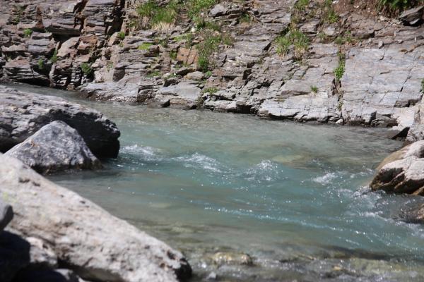 Bramans, Fluß, Frankreich, Gebirgsbach, Haute-Savoie, Vanoise