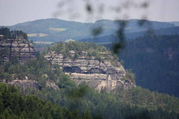Fels, Sächsische Schweiz, Thorwalder Wände