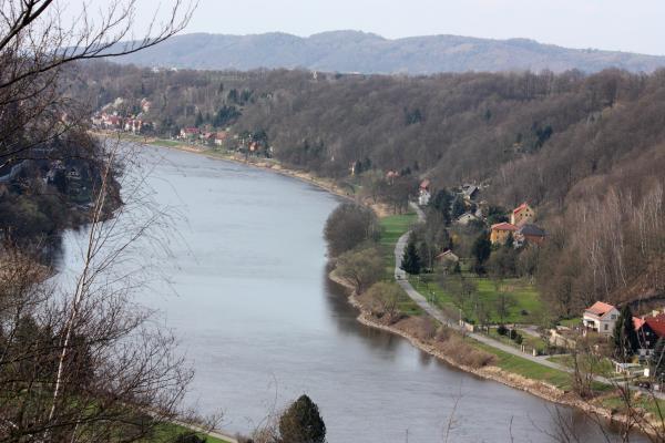 Elbe, Sächsische Schweiz
