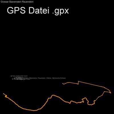 Wandern, Bärensteine, Rauenstein, Wehlen, Sächsische Schweiz, Höhenmeter 325m, Länge 10km, GPX Route, GPS Daten