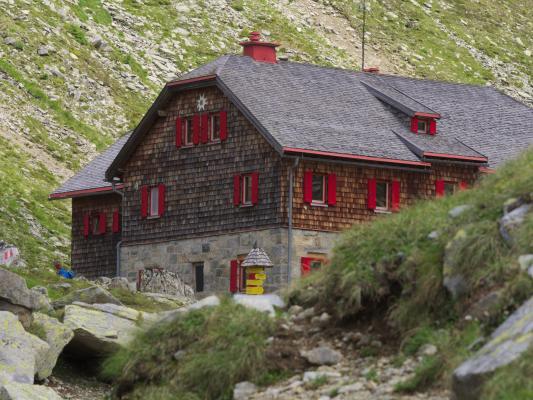 Arthur Schmid Haus, Dösental, Mallnitz