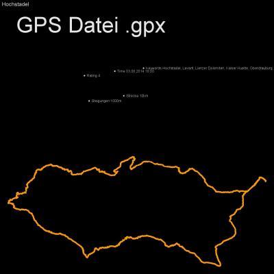 Hochstadel, Lavant, Lienzer Dolomiten, Kalser Huette, Oberdrauburg, Drautal, Dreitoerlweg, Gemaech, Höhenmeter 1000m, Länge 10km, GPX Route, GPS Daten