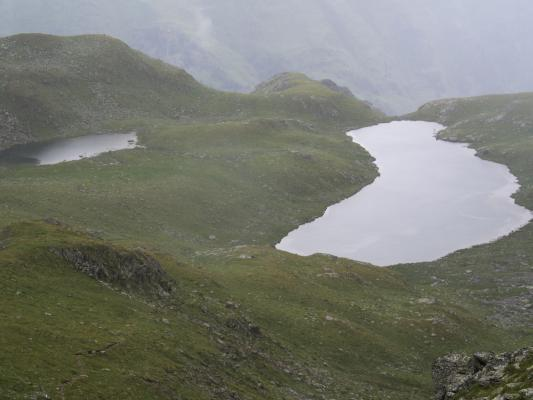 Alpen, Drautal, Hochtristen, Inzell, Kreuzeckgruppe, Regen, Zweisee