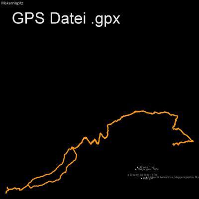Astenmoss, Maggernigspitze, Moelltal, Sadnighaus, Höhenmeter 1000m, Länge 11km, GPX Route, GPS Daten
