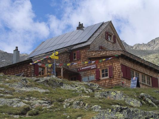 Gradental, Nossberger Hütte