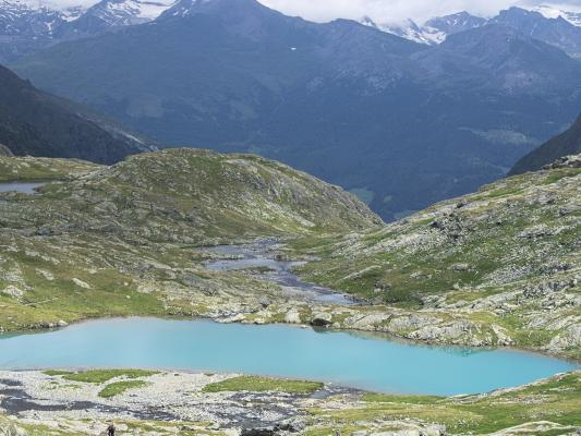 Bergsee, Gradental, Nossberger Hütte, türkis