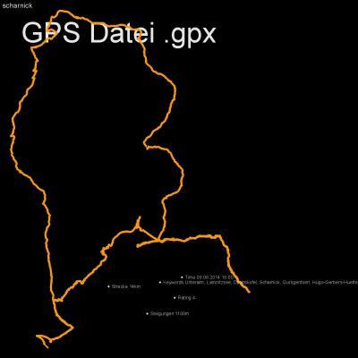 Unteralm, Lamnitzsee, Dachskofel, Scharnick, Gursgentoerl, Hugo-Gerbers-Huette, Höhenmeter 1100m, Länge 14km, GPX Route, GPS Daten