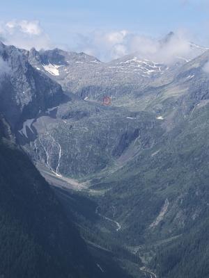 Alpen, Gradental, Hohe Tauern, Nossberger Hütte, Schobergruppe, Österreich
