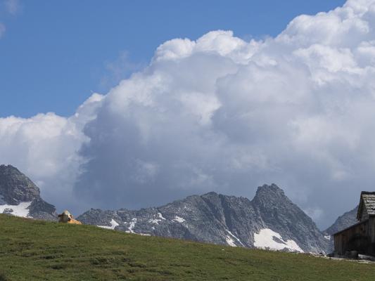 Alpen, Hohe Tauern, Trögeralm, Trögeralmhütte, Österreich