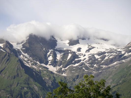 Glocknergebiet, Hochalpenstraße, Wolken