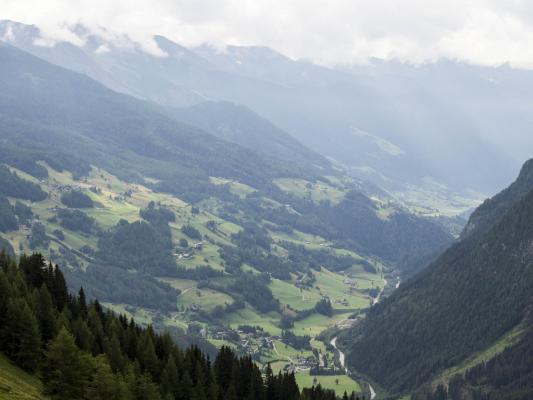 Glocknergebiet, Hochalpenstraße, Mitten und Umgebung
