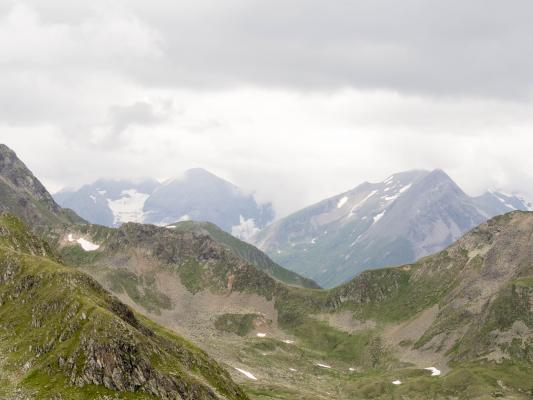 Alpen, Egg, Egger Wiesen, Fleckenkopf, Mölltal, Österreich