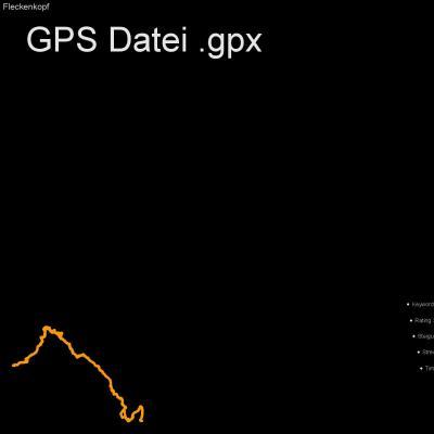 Moelltal, Fleckenkopf, Egger Wiesen, Egg, Putschall, Höhenmeter 800m, Länge 6, 5km, GPX Route, GPS Daten